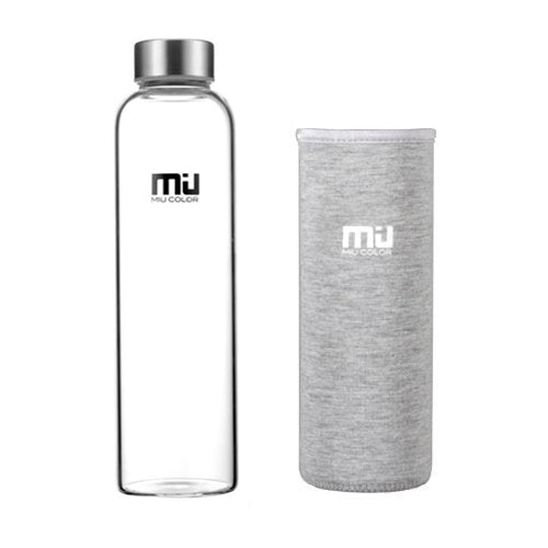 water bottle with stainless steel cover