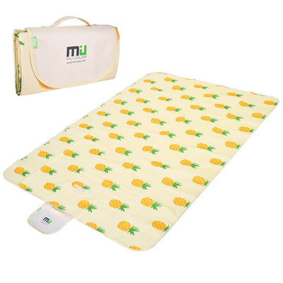 Dual Layers Outdoor Pinic Blanket-Pineapple