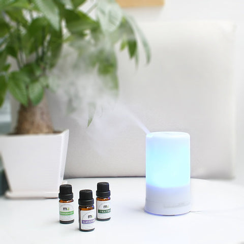 Essential oil go out with mist