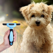 Miupet Grooming Brush Leaves a shiny and healthy topcoat