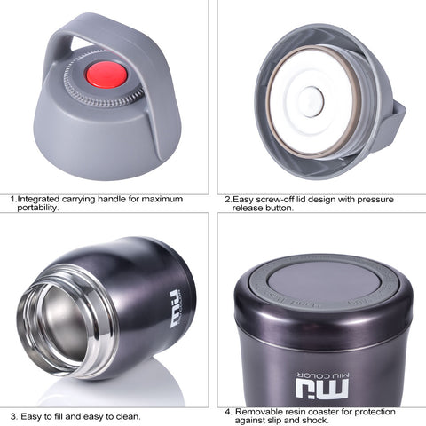 Vacuum Insulated Stainless Steel Food Jar