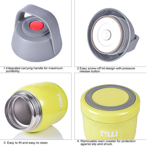 MIU COLOR Food Jar is rugged and built to last