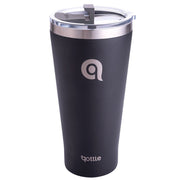 Qottle 30oz Sport Water Bottle Black