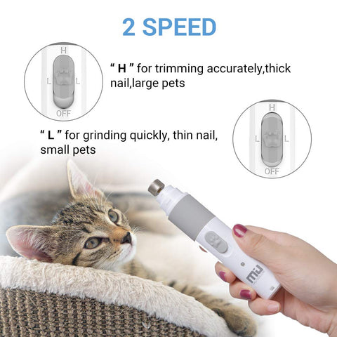 Rechargeable Electric Pet Nail Grinder