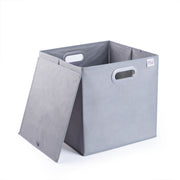 Bins come with 2 handles for quick access of your stuff