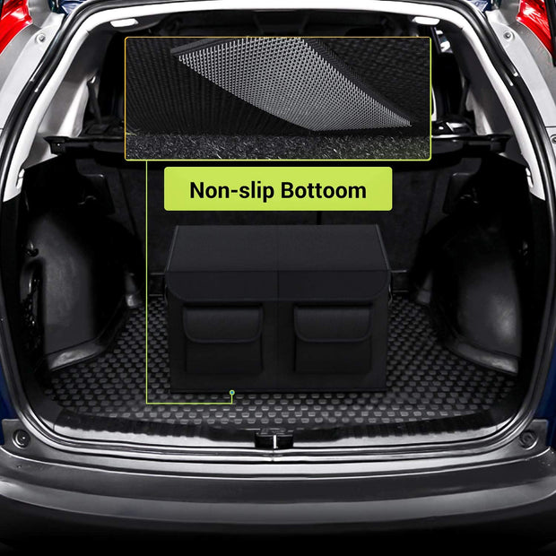 Car Trunk Organizer with Cover