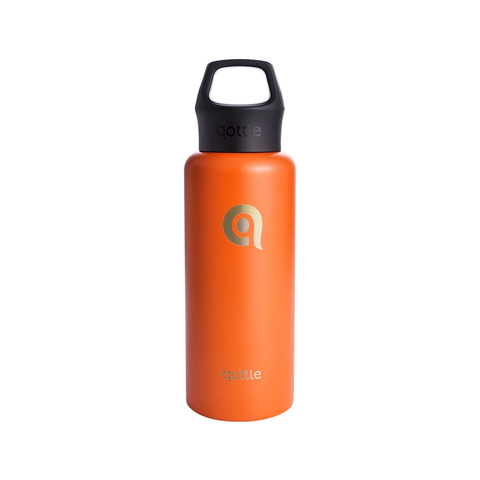 Orange Sport Water Bottle