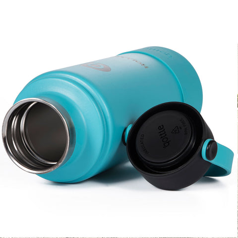 Qottle 32oz Sport Water Bottle Aqua