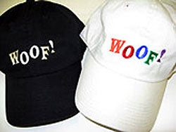 Woof! Embroidered Hat