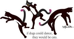 Dancing Cats (Tees, Sweatshirts)