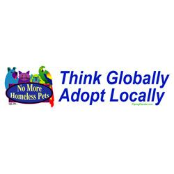 Think Globally Adopt Locally (Tees, Sweatshirts)