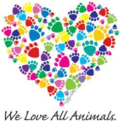 We Love All Animals (Tees, Sweatshirts)