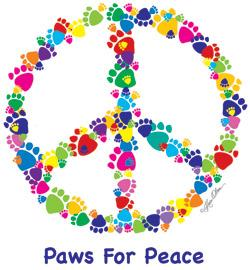 Paws For Peace (Tees, Sweatshirts)