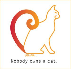 Nobody Owns A Cat (Tees, Sweatshirts)
