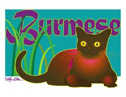 Burmese Cat (Tees, Sweatshirts)