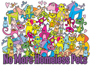 No More Homeless Pets (Tees, Sweatshirts)