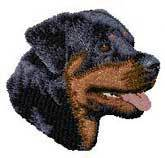 Rottweiler(D7) Embroidered Hat