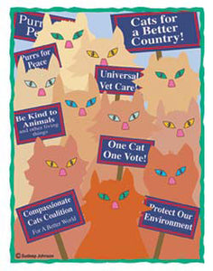 Cats For A Better Country (Tees, Sweatshirts)