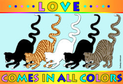 Love Comes in All Colors (Tees, Sweatshirts)