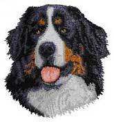 Bernese Mountain Dog(D13) Embroidered Hat