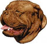 Bordeaux, Dogue de Bordeaux, (D39) Embroidered Hat
