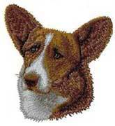 Corgi, Cardigan Welsh(D12) Embroidered Hat