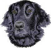 Flatcoat Retriever(D53) Embroidered Hat