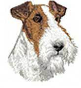 Fox Terrier Wire Hair(D139) Embroidered Hat