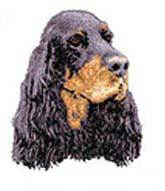 Gordon Setter(D78) Embroidered Hat