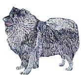 Keeshond(32) Embroidered Hat