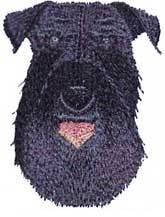 Kerry Blue Terrier(BB) Embroidered Hat