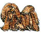 Lhasa Apso(18) Embroidered Hat