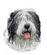 Old English Sheepdog(D40) Embroidered Hat