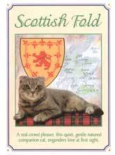 Scottish Fold Cat Crest
