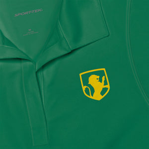Women's Lion Emblem Polo Shirt