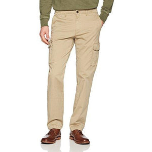 Cargo Pants - Straight-Fit Vintage Comfort Stretch