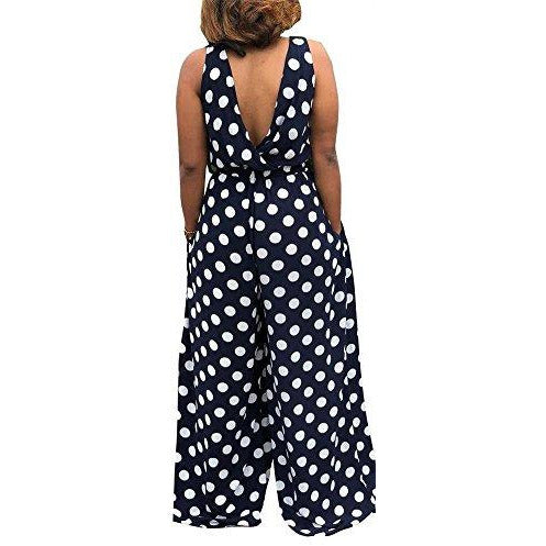 Summer Polka Dot Jumpsuit