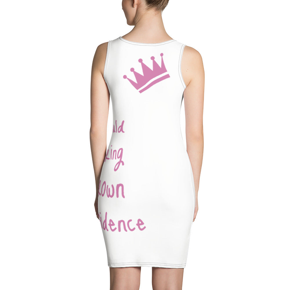 Motivational Quote Dress