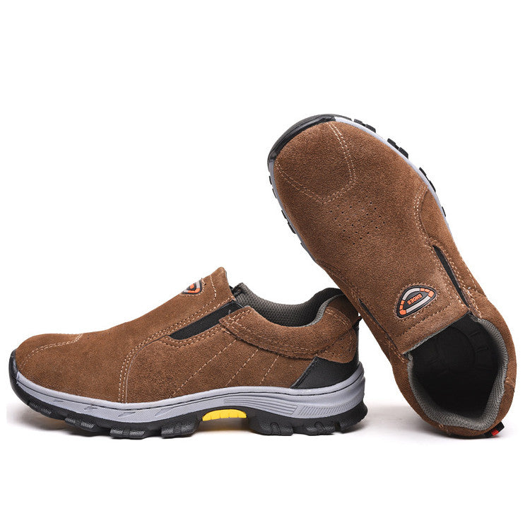 Men casual steel toe Safety Shoes