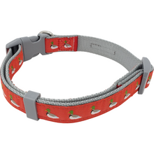 Duck Nylon Ribbon Dog Collar