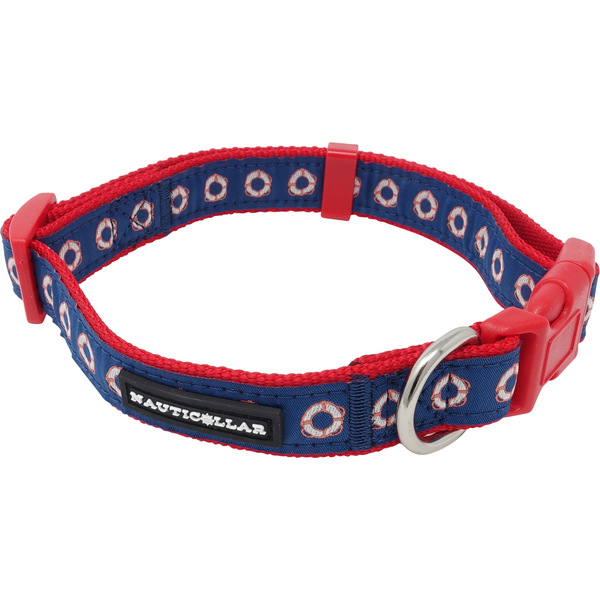 Lifering Adjustable Nylon Ribbon Dog Collar