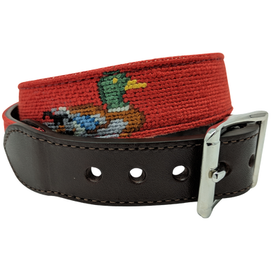 Duck Nautical Needlepoint Dog Collar by Nauticollar