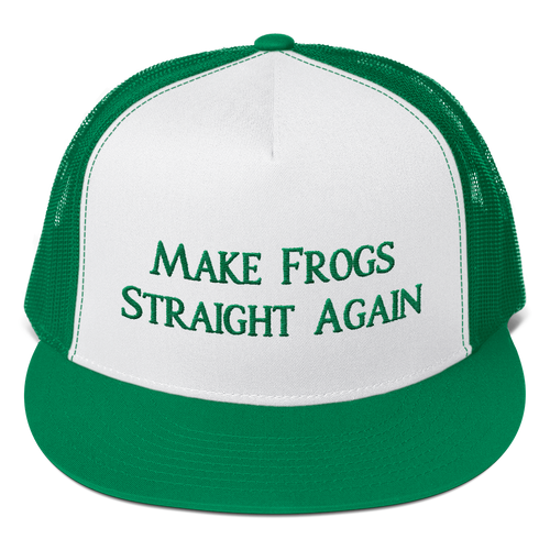 MAKE FROGS STRAIGHT AGAIN (MESH BACK)