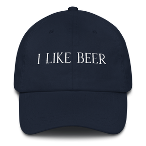 I LIKE BEER HAT (CURVED VISOR)