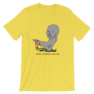 DON'T ASSIMILATE ME NPC TEE