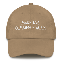 Load image into Gallery viewer, MAKE 1776 COMMENCE AGAIN HAT