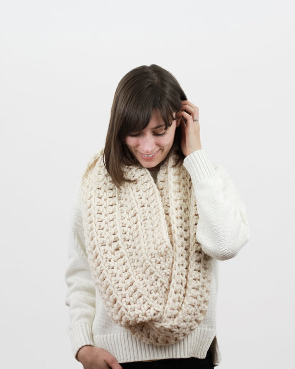 CROCHET | The Anchorage Infinity Scarf