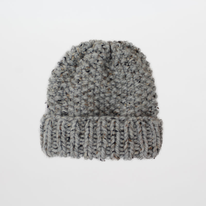 Chunky Knit Beanie Pattern. Easy hat pattern by Forefolk.