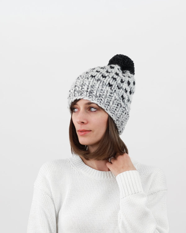 Knitting Pattern. Fair Isle Hat by Forefolk. Chunky knit, modern knitting pattern