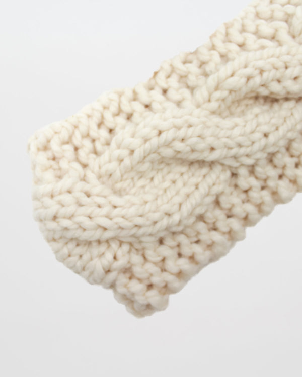 Cable Knit Headband Pattern. Modern and Simple Knitting Pattern by Forefolk
